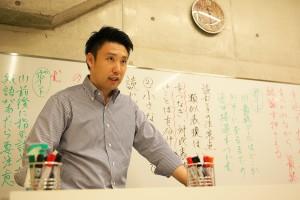 小川先生1(日本語科主任)